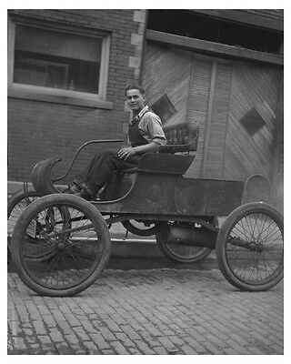 1901 Oldsmobile Curved Dash Automobile Factory Photo ch7697