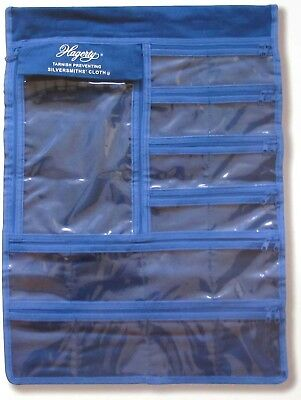 Hagerty Hanging Jewelry Keeper - Made With Hagerty's Anti-Tarnish Silver Cloth