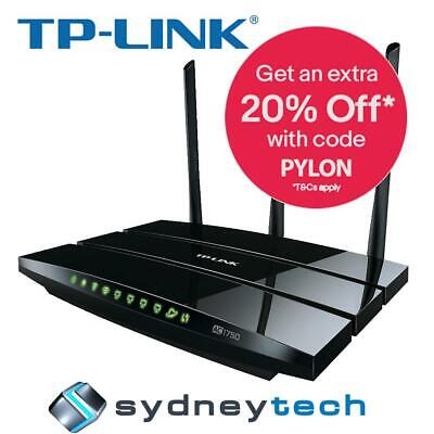 New TP-Link Archer C7 Wireless AC1750 Dual Band Gigabit Router
