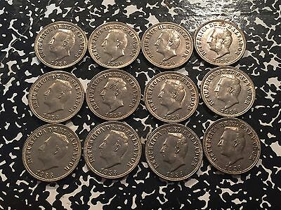 1956 El Salvador 5 Centavo (12 Available!) High Grade! Beautiful! (1 Coin Only)