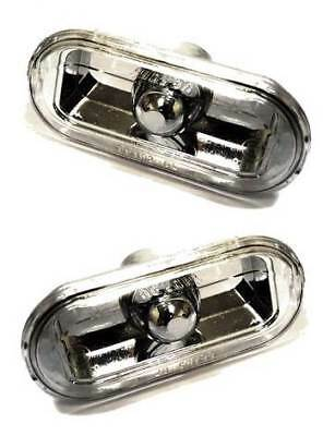 For Ford Fiesta MK6 2002 - 2008 Crystal Clear Side Repeaters Indicators 1 Pair