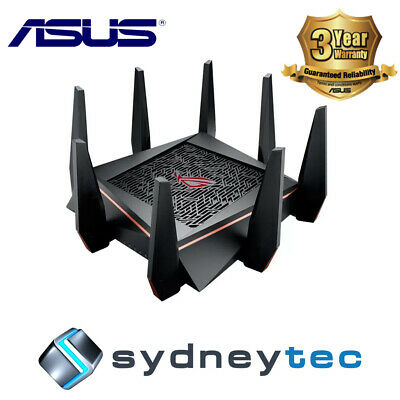 New Asus GT-AC5300 ROG Rapture Wireless-AC5300 tri-band gaming router