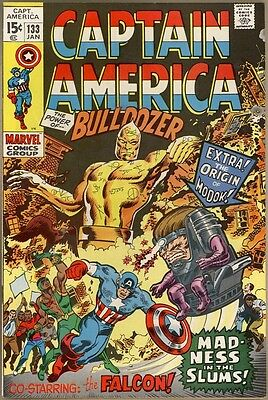 Captain America #133 - VF