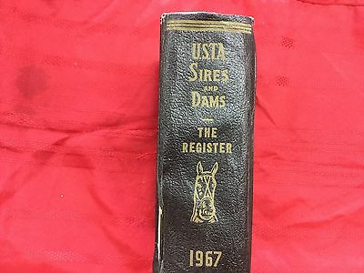 U.S.T.A. Sires and Dams The Register 1967