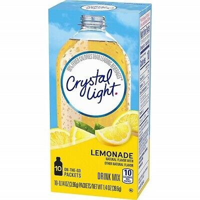 Crystal Light On The Go Lemonade Sugar Free Soft Drink Mix