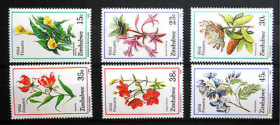 Zimbabwe 1989 Wildflowers Sg750-5 U/m Sale Price Fp2970