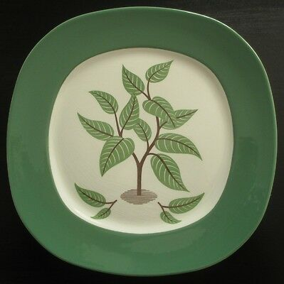 Taylor Smith Taylor Coffee Tree Dinner Plate Walter Teague Conversation Crazing