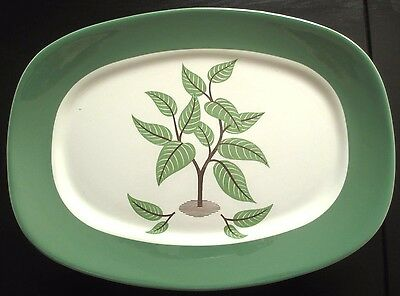 Taylor Smith Taylor Coffee Tree Serving Platter Walter Teague Conversation Minor
