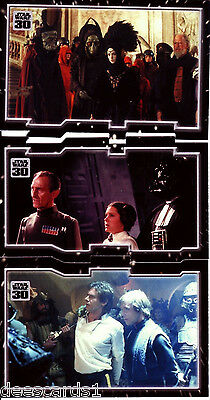 Star Wars 30th Anniversary TRYPTICH IMPRISONMENT PUZZLE INSERT SET