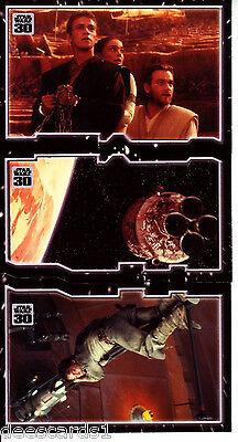 Star Wars 30th Anniversary TRYPTICH ESCAPING FATE  PUZZLE INSERT SET