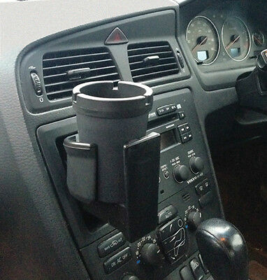 In Car, Outdoor Patio, Home & Office Black Portable Cigarette Ashtray Holder Cup