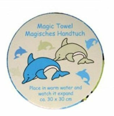 Magic Towel Childrens Dolphin Expanding Face Cloth / Flannel