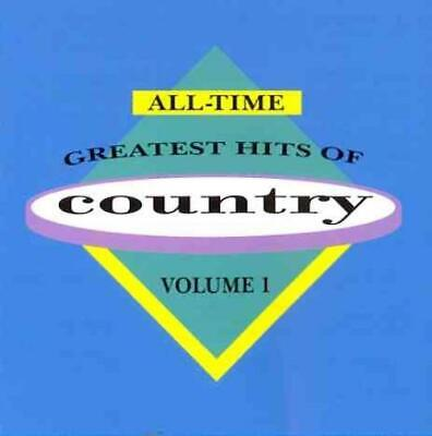 Various Artists - All-Time Greatest Hits Of Country, Vol. 1 New Cd