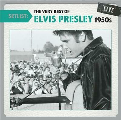 Elvis Presley - Setlist: The Very Best Of Elvis Presley (1950S) Live New Cd