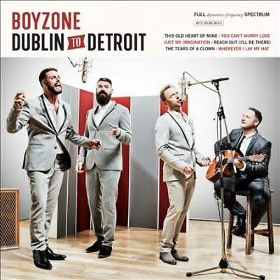 Boyzone (Boy Band) - Dublin To Detroit New Cd