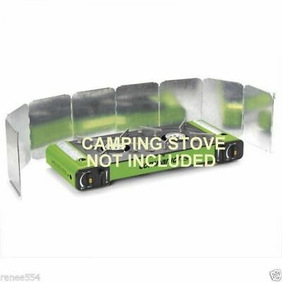 Companion Double Deflector Windshield FOR Portable Camping Stove New Accessorie