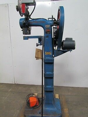 "Ideal WSIS-1253 Straight Arm Box Stitcher 12"" Throat 1-3/8"" Crown Staples 115V"