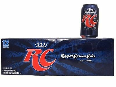 RC Crown Cola 12 Pack of Cans