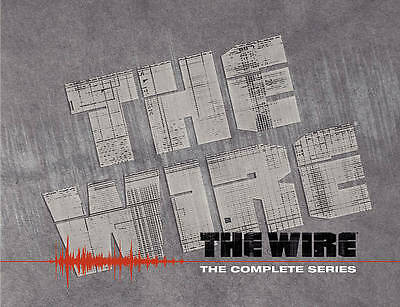 The Wire - The Complete Series (DVD, 2010, 23-Disc Set)