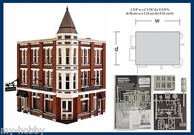 N Scale Davenport Department Store Structure Kit - Woodland Scenics #PF5214
