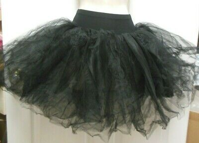 NWT European tutu Ballet black 5 Layers on Trunks Ch/Adult sizes professional