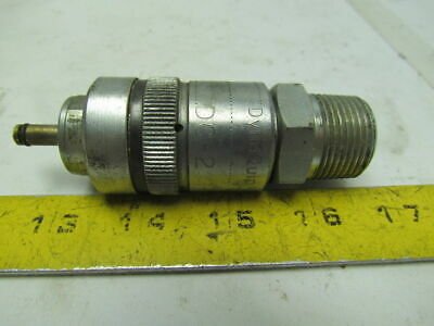 "Dynaquip DC-2 3/4""NPT Quick Coupling Hydraulic Coupler Steel"