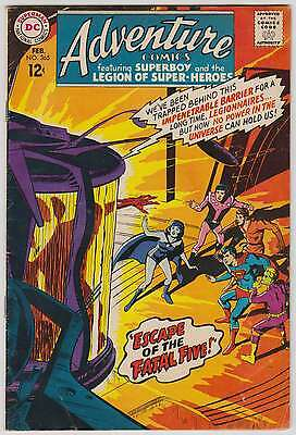 L0293: Adventure Comics #365, Vol 1, Fine Condition
