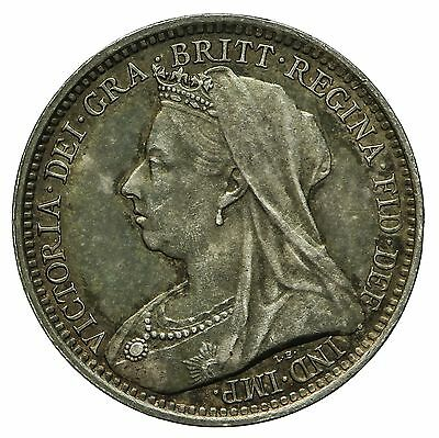 Queen Victoria Silver Maundy Threepence 1893
