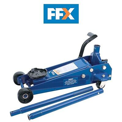 DRAPER 30612 3 Tonne Heavy Duty Garage Trolley Jack with 'Quick Lift' Facility