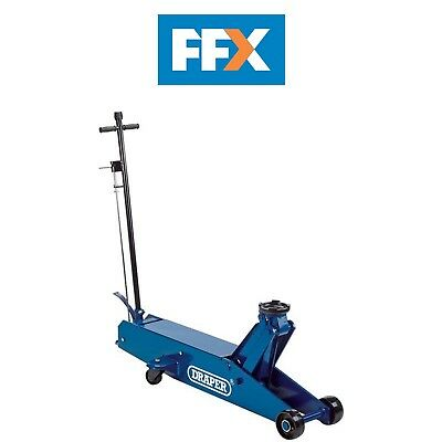 Draper TJ10/HD-LONG 10T Quick Lift Long Chassis Hydraulic Trolley Jack