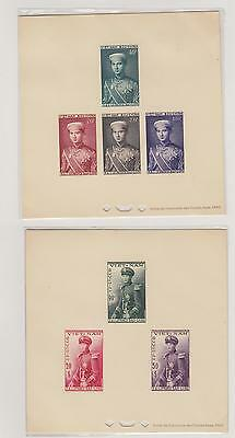 Vietnam South A Collection Of Early Issue Proof Deluxe Bao Long Set