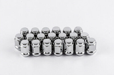 14mm X 1.5 Thread Size Pack of 24 Lugnuts Chrome Bulge Acorn Wheel Lug Nutschrome Bulge Acorn Wheel Lug Nuts 1.88 Tall