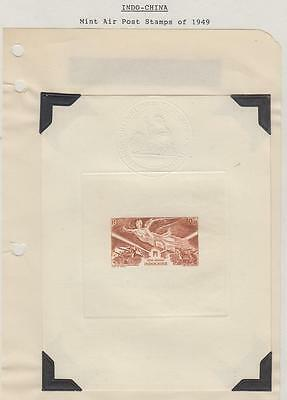 French Indochina Deluxe Sheet Air Post 1949
