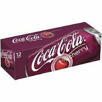 Cherry Coca Cola 12 Pack Of Cans