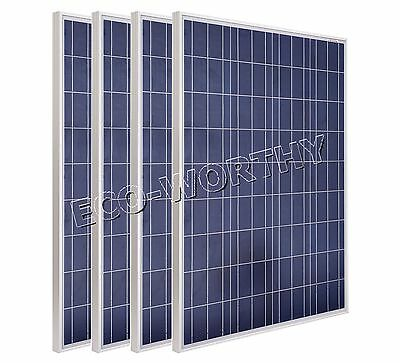 100W Solar Panel 200W 400W Solar Module for Home Off Grid 12V Battery Charger