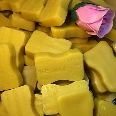 Beeswax 5 bars 1oz each  Filtered Organic Pure Yellow Bees wax Cosmetic Grade