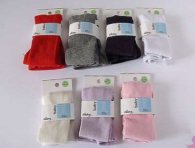 Girls Baby Kids Plain Color Cotton Mix Warm Bottoms Tights Stocking 0-16years