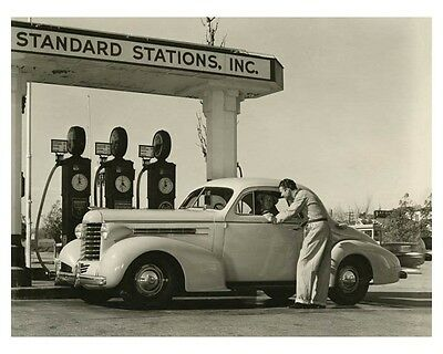 1937 Oldsmobile Six Business Coupe Automobile Factory Photo ch7830