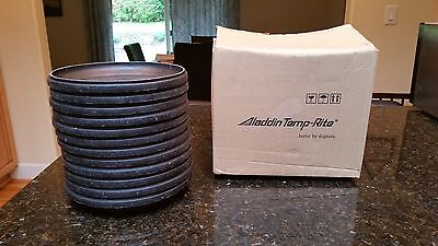Aladdin Temp-Rite IHB24K Heat On Demand Ultra Base Black Box Case of 12 Plates