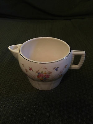 TRIUMPH AMERICAN LIMOGES GOLD WARRANTED 22K NEW PRINCESS CREAMER CUP PITCHER