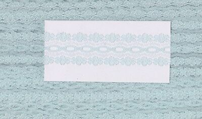 Sky Blue Coathanger Lace (x 5 metres)