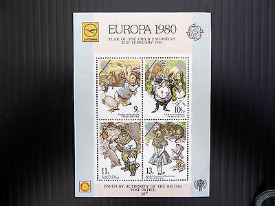 GB 1980 International Year of the Child EUROPA M/Sheet NEW SALE PRICE FP3107