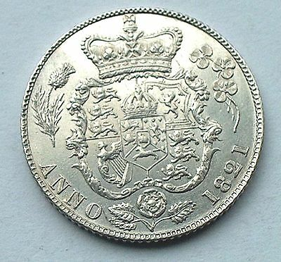 British - 1821 George IIII  Sixpence - High Grade