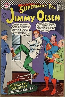 Superman's Pal, Jimmy Olsen #102 - G/VG