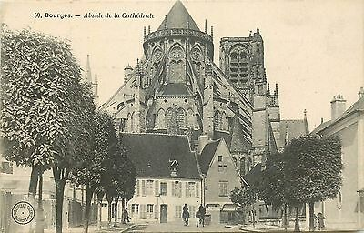 18 Bourges Abside Cathedrale 27355