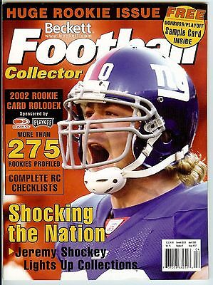 Beckett Football Collector Magazine - April 2003
