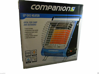 Portable Gas LPG Heater Free Post Outdoor Gas  Camper COMP232 Companion