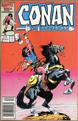 Conan The Barbarian #189 - VG/FN