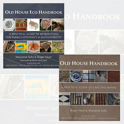 Old House Handbook Collection Practical Guide to Care and Repair 2 Books Set NEW