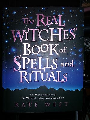 Brand New! Real Witches Book Of Spells & Rituals Wicca Magick Divination Pagan